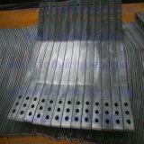 Het Koper die van het titanium Vlakke Staaf voor het Vacuüm Maken/de Ruimte van het Zout beëindigen