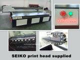 Impressora Flatbed de alta velocidade principal de UV2030 Seiko para parede Integrated