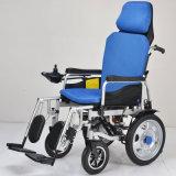 Situación eléctrica de mentira de la potencia del acero encima del sillón de ruedas