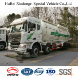 Yuchai CNGエンジンを搭載する35cbm C&Cのユーロ5のれき青炭の粉のタンク車