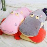 Stuk speelgoed van Hippo van de Pluche van Ce En71 het Zachte