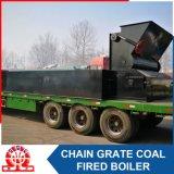 Chaudière à eau chaude à charbon horizontale à grande capacité 14MW-1.0MPa