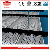 Chapa interior del aluminio de Perfortated del panel de revestimiento de la pared de cortina del precio de fábrica