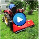 Remolque montada alimentador detrás del cortacéspedes del mayal del cortador de hierba para la venta