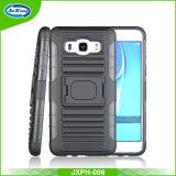 Caixa magro do telefone de Kickstand da armadura da caixa esperta nova do telefone do projeto para Samsung J5 2016