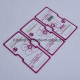 Cartão de embalagem de plástico impresso de alta qualidade personalizado