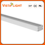Aluminium Extrusion White Strips Light Linear LED Lighting pour les collèges