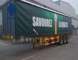 Tela incatramata del PVC nel commercio all'ingrosso del rullo per il coperchio del camion