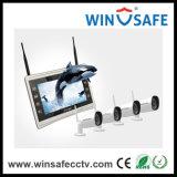 Support Androïde/Ios/PC Verre Draadloze IP van de Uitrustingen van de Veiligheid NVR van het Huis Camera