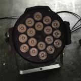 luz ULTRAVIOLETA de la IGUALDAD de la etapa LED del profesional RGBWA de 18X15W DMX