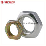 DIN439, noix minces d'hexagone, 04, 05