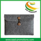 Bolso del fieltro para el bolso de hombro de los bolsos de totalizador del fieltro de los hombres de negocios