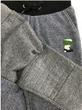 Graue Gemisch-kurze Hose für Jungen mit Teddybär-Änderung am Objektprogramm