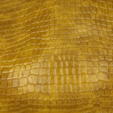 Подгонянная кожа PVC PU Rexine крокодила цвета для ботинка и багажа сумки