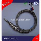 Micc Typ K/J/T/E/R Edelstahl-Bajonett-Thermoelemente mit Edelstahl-Kabel