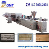 PVC石造りの側面パネルシートの機械を作るプラスチック製品の押出機