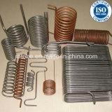 Réfrigérateur à immersion d'acier inoxydable et d'en cuivre Homebrew