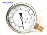 Calibrador de la presión hydráulica Og-017/calibrador de presión llenado líquido