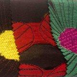 Покрашенная пряжей ткань полиэфира химически волокна жаккарда для пальто платья