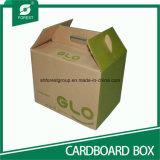 ハンドルとのギフトの出荷のための波形の包装の紙箱