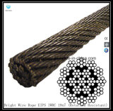 19X7 Iwrc Bright Wire Rope Eips (Rotation Resistant)