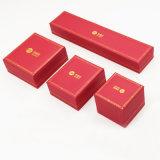 Уцененная коробка PU цены кожаный пластичная с золотистым печатание (J70-E3)