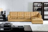 Sofá de la esquina de cuero moderno /Sofa (UL-NS051) de la sala de estar