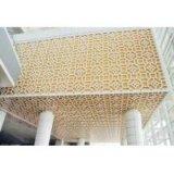 Painel perfurado de alumínio da fachada (A1050 1060 1100 3003 5005)