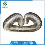 Condotto flessibile dell'acciaio inossidabile 304 semirigidi spessi per ventilazione più a secco