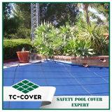 Tampa durável da piscina da segurança do engranzamento