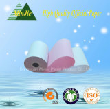 Rolo de papel duplicado do formulário de papel contínuo de papel sem carbónio da alta qualidade
