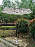 Parapluie extérieur de parasol de côte en métal 6