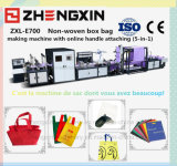 Sac à provisions non-tissé promotionnel de tissu faisant la machine (ZXL-E700)