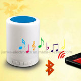 Altavoz sin hilos portable de Senser LED Bluetooth del tacto (533)