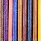 Couro de couro sintético do falso do PVC do fabricante em China (908#)