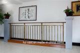 Barandilla de acero galvanizada decorativa de alta calidad 23 del balcón de la aleación de Haohan Alluminum