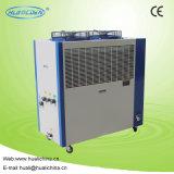 Refrigerador refrigerado por aire industrial para la máquina del soplador de la botella