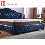 Base luxuosa do couro do tamanho da rainha para a mobília do quarto da base