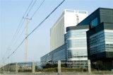 Rete fissa d'acciaio galvanizzata giardino residenziale industriale semplice nero 21 di obbligazione di Haohan