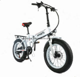 إطار العجلة سمينة يطوي يخفى بطارية كهربائيّة دراجة [إ] دراجة