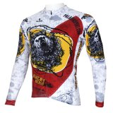 Куртка спортов способа реветь сделанная по образцу медведем холодная покрывает втулка Breathable быстро сухой задействуя Джерси людей длинняя
