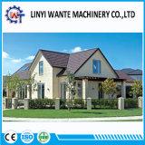 Dach-Material-Zink-Blatt-Stein-überzogene Metallschindel-Dach-Fliese