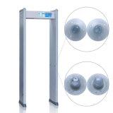 4 detectar el detector de metales humano de la arcada de la luz indicadora de la zona