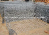 Cadre de Gabion/maille de Gabion/treillis métallique galvanisés Chaud-Plongés de Gabion