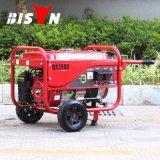 Bison (Chine) BS3500p (M) 2.8kw 2,8kVA Fil de cuivre à une phase de recul Démarrez le générateur d'essence portable refroidi par air