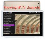 PC Europa IPTV árabe de la tablilla 9.7inch con la base 3G Bluetooth del patio Mtk6582