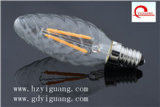 수정같은 Chandellier, TUV/UL/GS를 위한 E14 220V/110V 3W C26 LED 초 전구