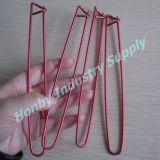 Pin de confeção de malhas de alumínio do suporte do ponto da agulha do cabo do Crochet