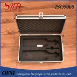Caixa de alumínio profissional com instrumento