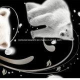 100%Polyester l'orso polare Pigment&Disperse ha stampato il tessuto per l'insieme dell'assestamento